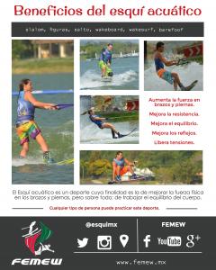 beneficios esquí acuático